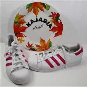 ADIDAS Superstars S Sneakers/Tennis Shoes Size 7